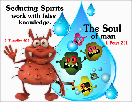 Apostles today teach new covenant thelogy | seducing spirits work with false knowledge