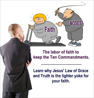 Learn why faith suffers when driven by the Law of Moses.