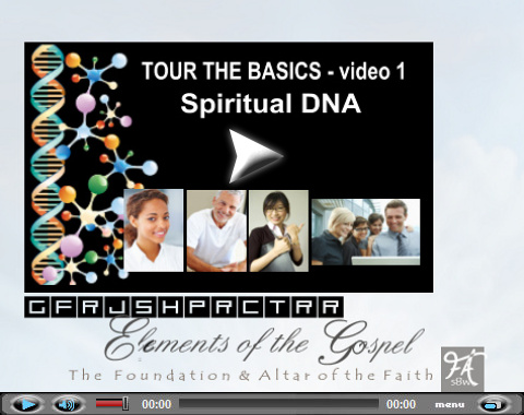 Video teaching 12 foundation stones. Part 1