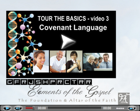 Video teaching on 12 foundation stones. Part 3