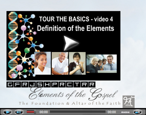 Video teaching on 12 foundation stones. Part 4