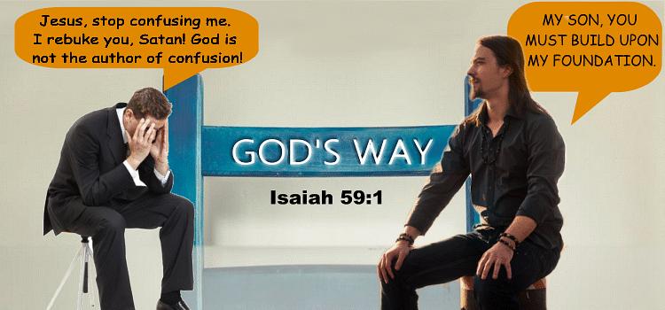 False prophets manifest the shortened hand of God.