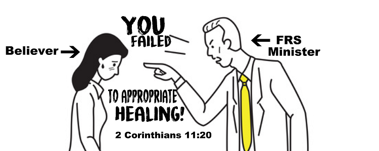Why healing is not in the atonement