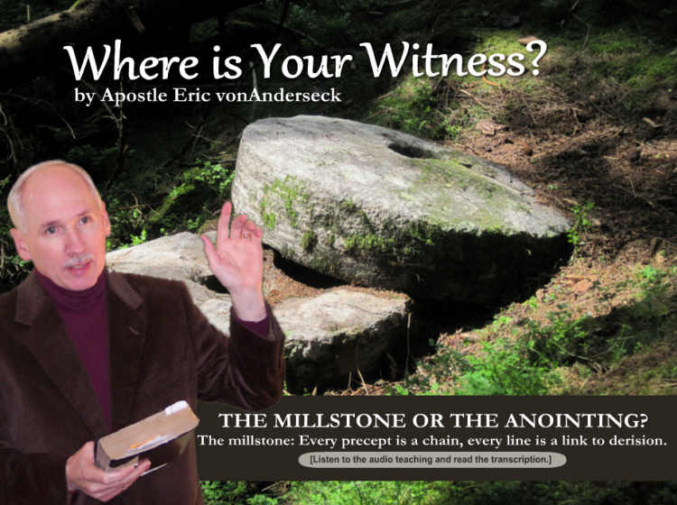 Where is Your Witness?
